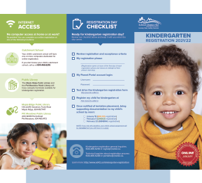 Kindergarten Registration Brochure 2021/22