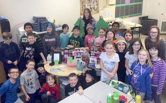 Sd42 Students And Staff Give Back During The Holidays