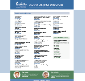 District Directory