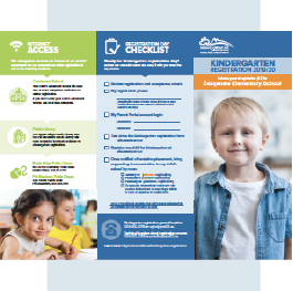 Kindergarten Registration Brochure 2019/20