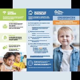 Kindergarten Registration Brochure 2019/20